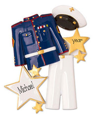 Marine uniform -Personalized Ornament