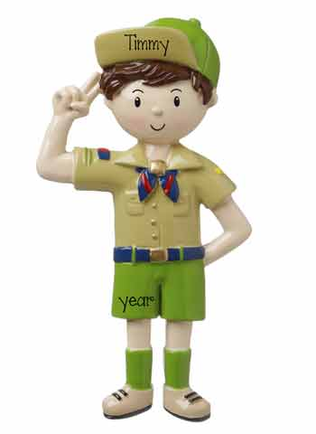 CUB SCOUT Personalized Ornament