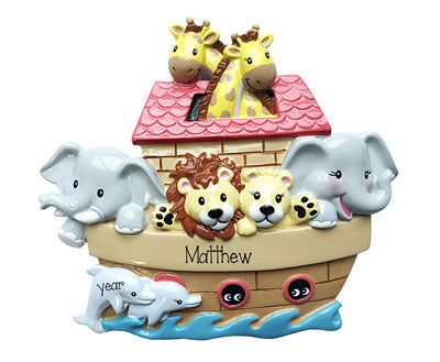 NOAH'S ARK Personalized Ornament