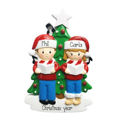 CAROLERS-Personalized Ornament
