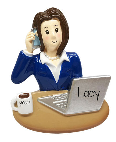 Female Assistant-Secretary-Office Manager-personalized ornament