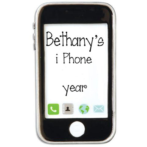 i Phone / Electronics - Personalized Ornament