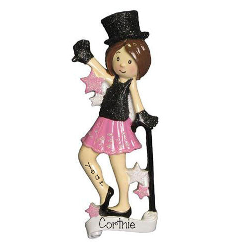 JAZZ DANCER -  Personalized Ornament