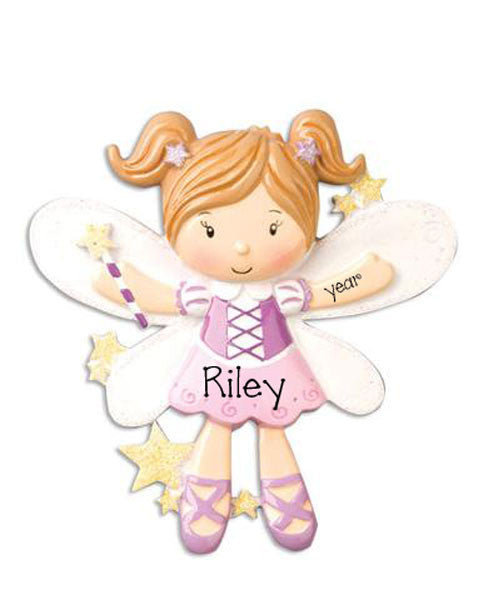 FAIRY/ BALLET -  Personalized Ornament