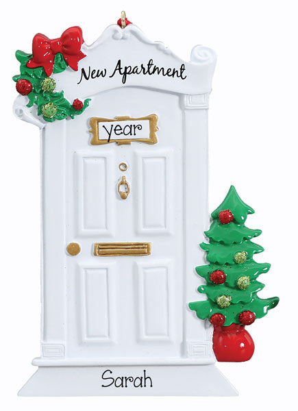 NEW APARTMENT~ Personalized Christmas Ornament