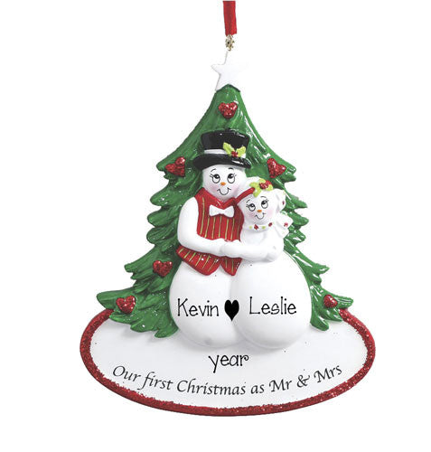 Our First Christmas as Mr & Mrs - Ornament