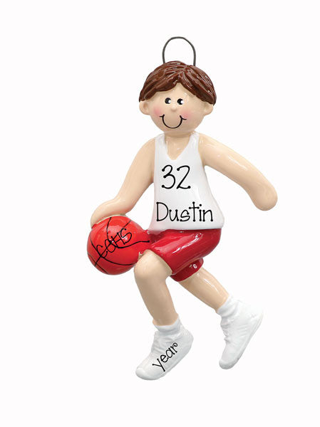 MALE BASKETBALL PLAYER - ORNAMENT