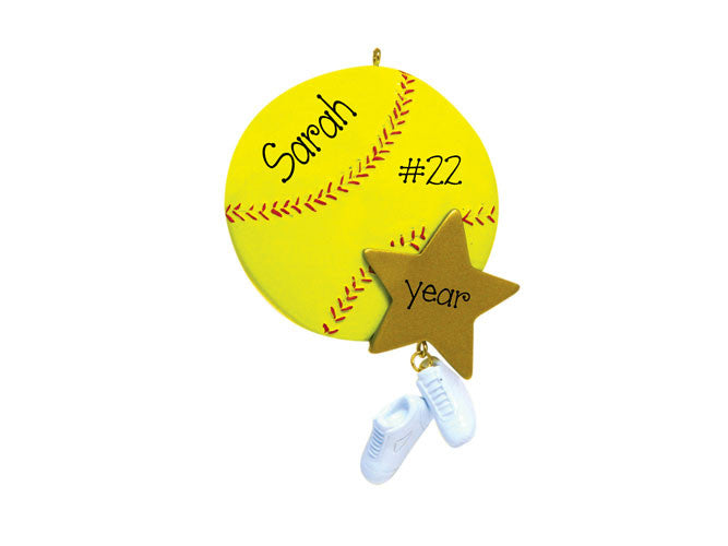 SOFTBALL - Ornament