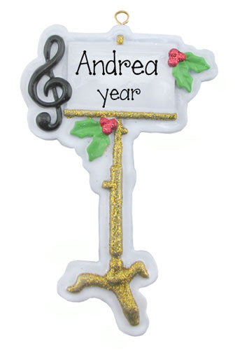 Music Stand / Band - Ornament