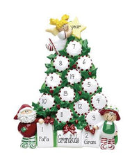 christmas tree TABLETOP DECOR' For a grandkids of 9 to 12 , MY PERSONALIZED ORNAMENT
