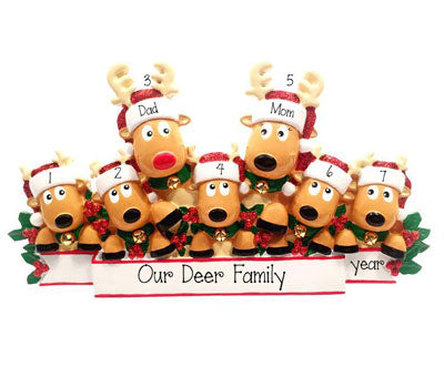 Reindeer Family of 7~Table Top Decor`