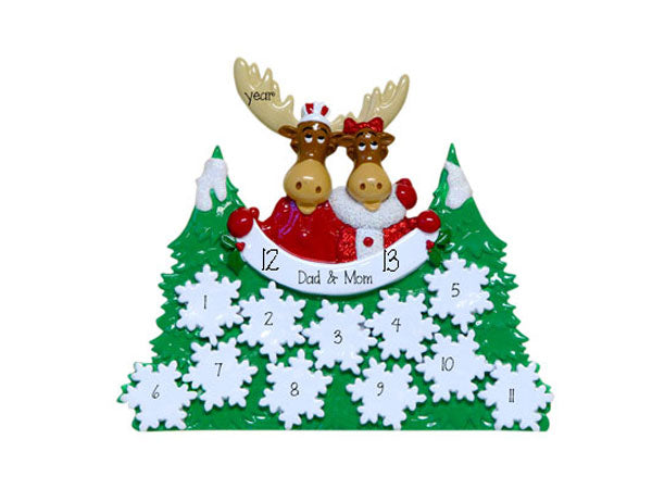 Moose Forest TABLETOP DECOR' (up to 13) persons
