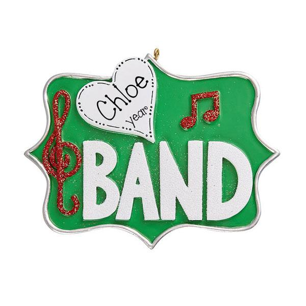 LOVE BAND~Personalized Christmas Ornament