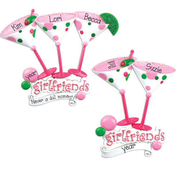 GIRLFRIENDS - PERSONALIZED ORNAMENT