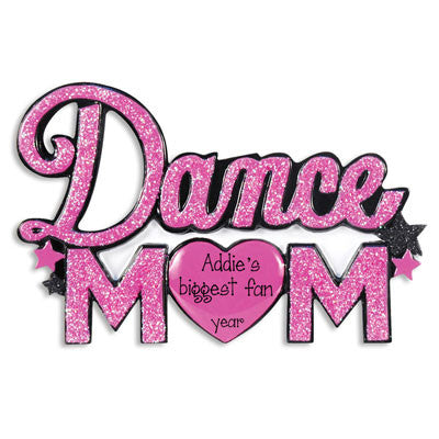 Dance Mom Personalized Ornament
