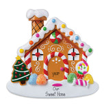 GingerBread House~Personalized Christmas Ornament