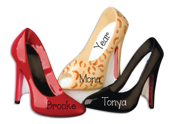 HIGH HEEL SHOES - Personalized Ornament