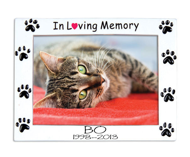 "Our Loving Pets ""In memory of""~Personalized Christmas Ornament"
