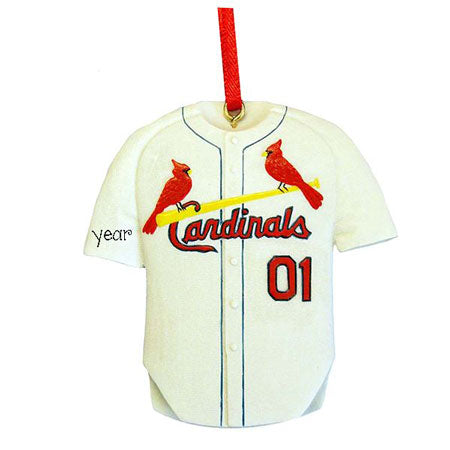 St. Louis Cardinal Jersey Ornament