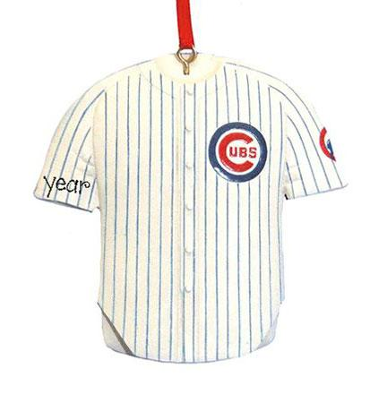 CHICAGO CUBS  JERSEY, MY PERSONALIZED ORNAMENTS