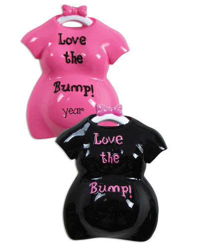 Expecting Mommy-Love The Bump-Ornament