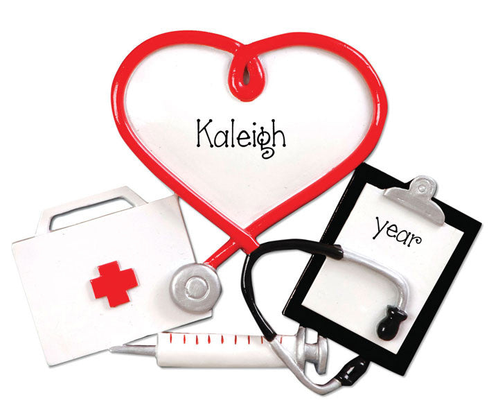 DOCTOR / NURSE/ PERSONALIZED ORNAMENT