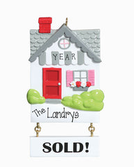SOLD REALTOR OR NEW HOME / MY PERSONALIZED ORNAMENT