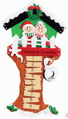 Tree House Family 9 to 11~Personalized Christmas Ornament
