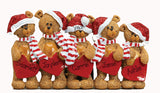 TABLETOP DECOR FAMILY OF 5 bears / MY PERSONALIZED ORNAMENT