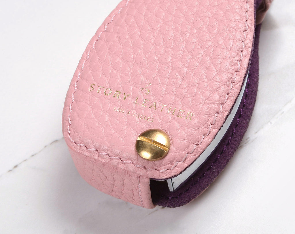 Pink Coaster Leather Key Cover Mercedes Benz 2 Button Car Product