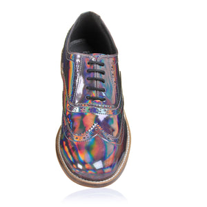 Holographic/Iridescent Metallic Brogues Pre-Order