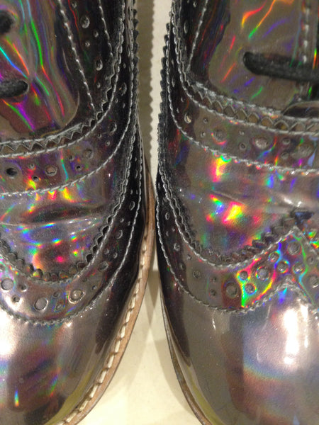 Size 3 Holographic/Iridescent (sample sale) R