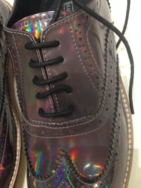 Size 6 Holographic/Iridescent (sample sale) X