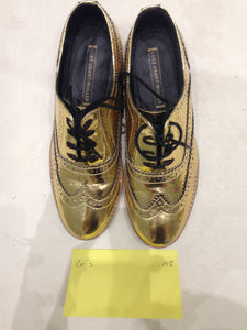 Ladies 5.5 Gents 4 US gold/mirror (sample sale) A8
