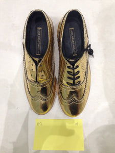 Ladies 5.5 Gents 4 US gold/mirror (sample sale) A9