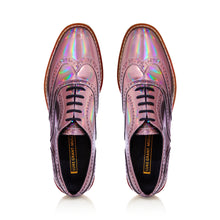 Holographic/Iridescent Metallic Brogues