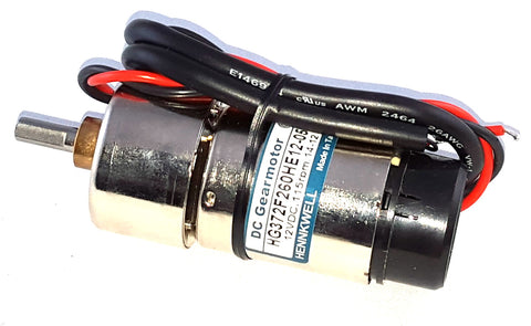 37mm DC Gearmotor with Encoder