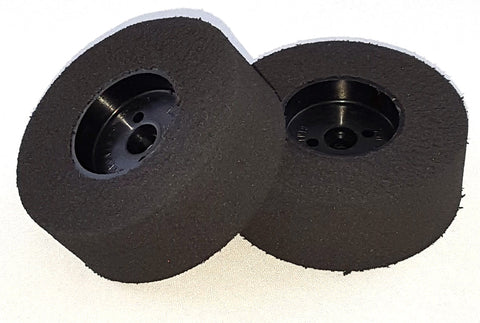 "Combat robot wheels with foam tires, 2.75""x 1.0"" (pair)"
