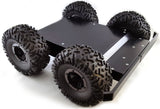 4WD Research Robot Chassis Kit - Rough Terrain