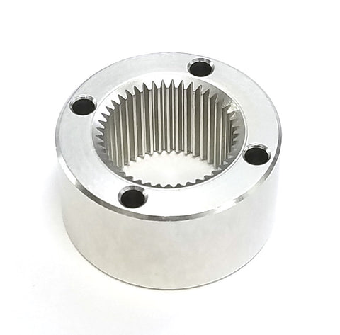 Aluminum gearbox for 22mm planetary gearmotor