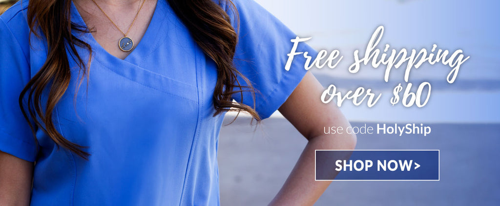 Free Shipping On Scrub Orders Over $60