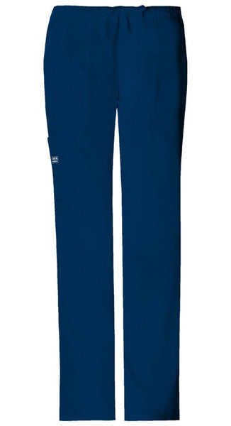 Women's Workwear Core Stretch Drawstring Flare Pant - Navy