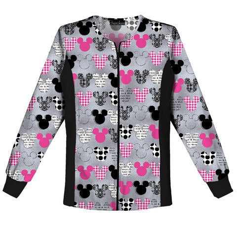 Women's Disney Warm-up Jacket - Mickey