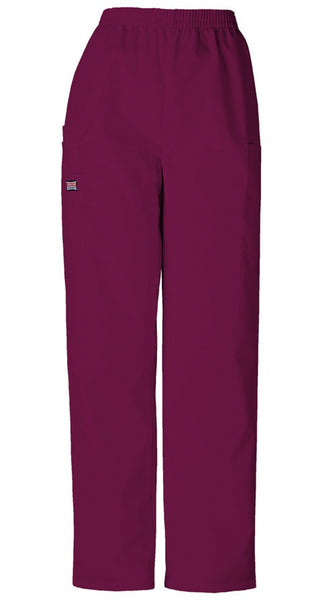 Women's Workwear Cargo Utility Pant - Wine