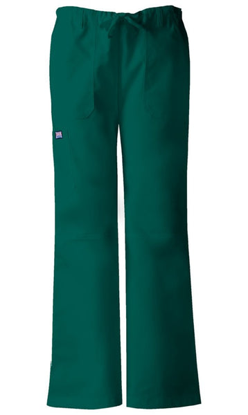 Women's Workwear Drawstring Cargo Pant - Hunter