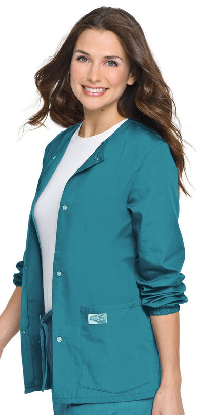 Women's Warm Up Jacket - Teal