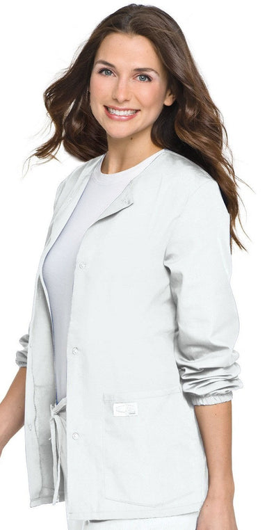 Women's Warm Up Jacket - White