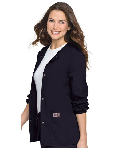 Women's Warm Up Jacket - Navy Blue