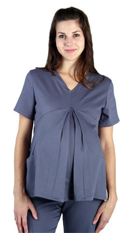 Women's Ultimate Pleated Front Maternity Top