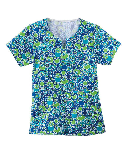 Women's Princess Line Top - Blue Bubble